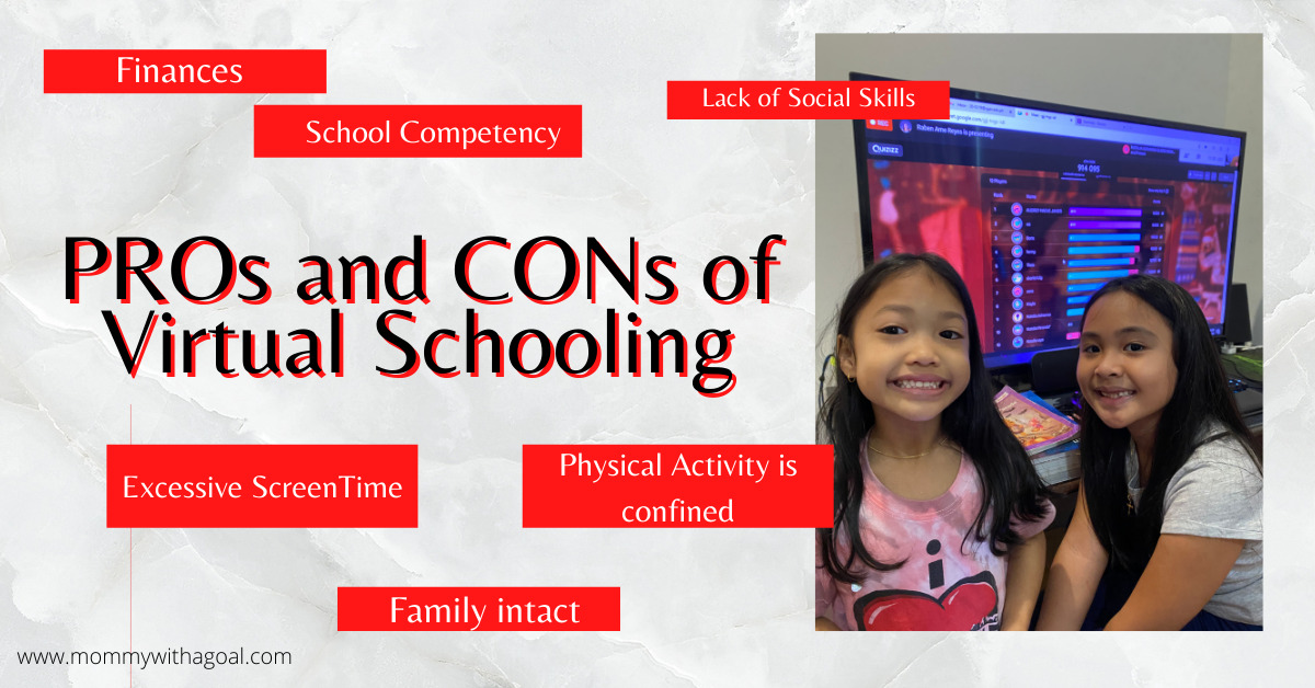 Mom shares Reality on the PROs and CONs of Virtual Schooling
