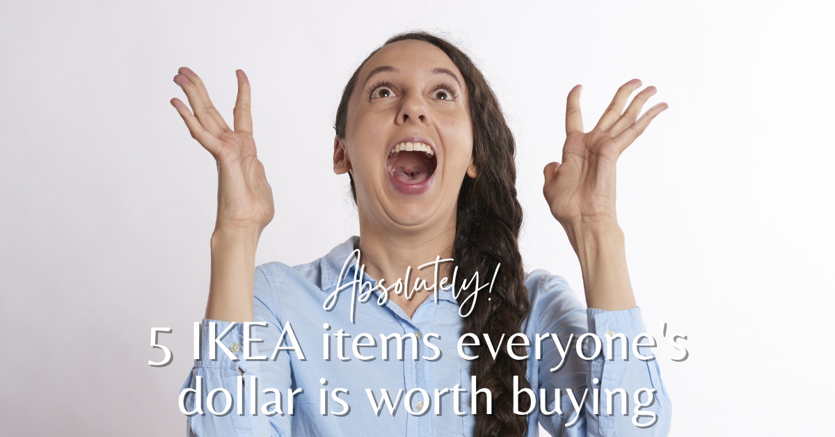 Absolutely 5 IKEA items everyone's dollar is worth buying